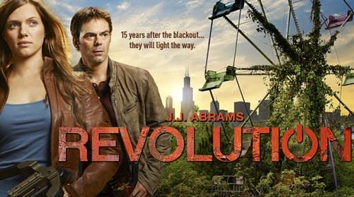 Bandeau Série Revolution avec les deux personnages principaux