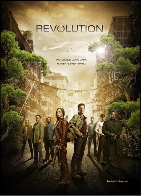 Affiche Série Revolution avec personnages