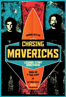 Affiche film Chasing Mavericks