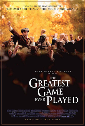 Affiche film the greatest game ever played